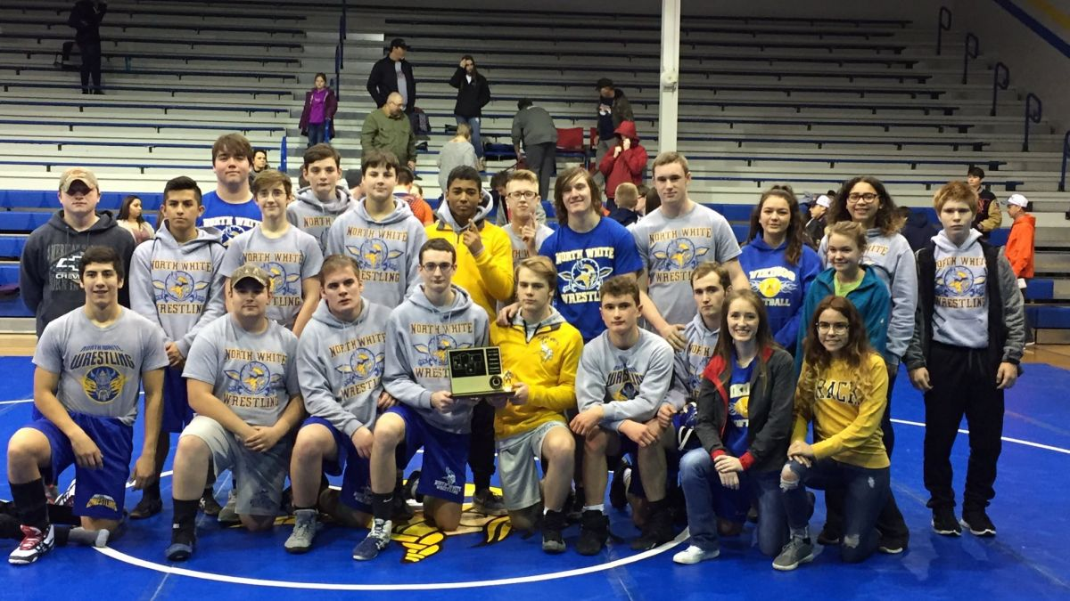 Varsity Wrestling: Midwest Conference Champions 2017-2018